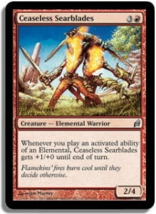 Ceaseless Searblades - foil