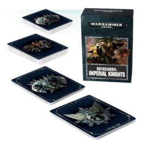 DATACARDS: IMPERIAL KNIGHTS (ENGLISH)