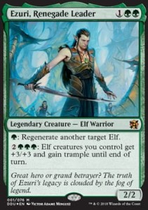 Ezuri, Renegade Leader (Duel Decks: Elves vs. Inventors) - FOIL