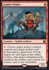 Goblin Welder (Duel Decks: Elves vs. Inventors) - FOIL