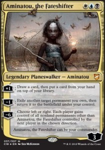 Aminatou, the Fateshifter (Version 1) (Commander 2018)