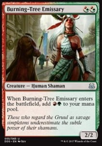Burning-Tree Emissary Duel Decks: Mind vs. Might
