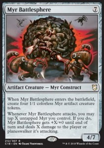 Myr Battlesphere (Commander 2018)
