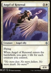 Angel of Renewal Mystery Booster