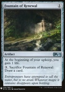 Fountain of Renewal Mystery Booster