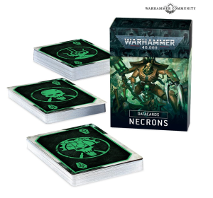 DATACARDS: NECRONS (ENGLISH) - new