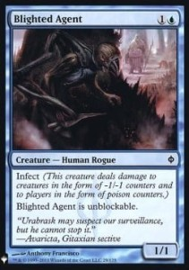 Blighted Agent Mystery Booster