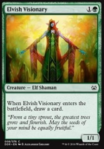Elvish Visionary (Duel Decks: Nissa vs. Ob Nixilis)