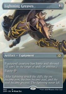 Lightning Greaves Double Masters: Extras